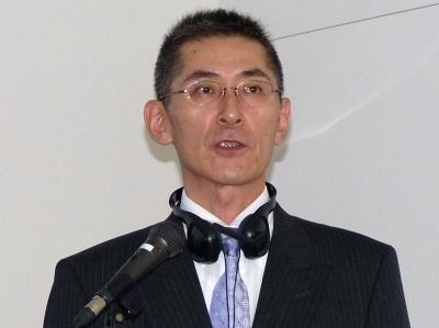 アドバンスト・メディア医療・公共事業部 シニアセールスマネージャーの樋爪和夫氏