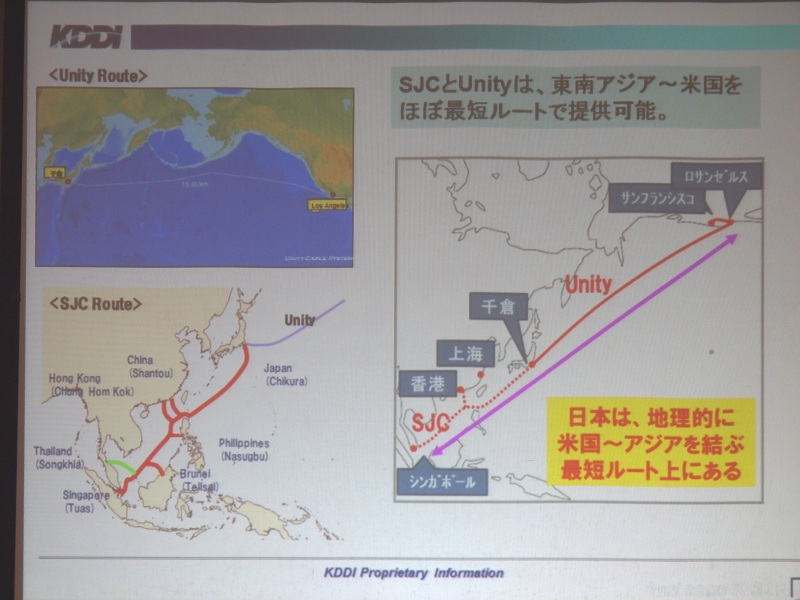 日本経由で東南アジアと米国をほぼ最短ルートで結ぶ