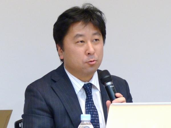 日本アイ・ビー・エム株式会社の守屋英一氏