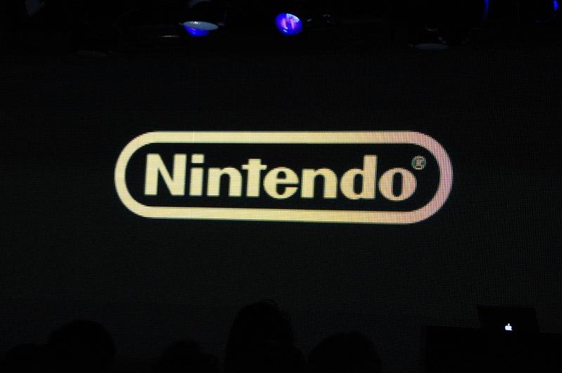 協賛企業紹介映像の最後に「特別協賛」として出てきたのは任天堂のロゴ