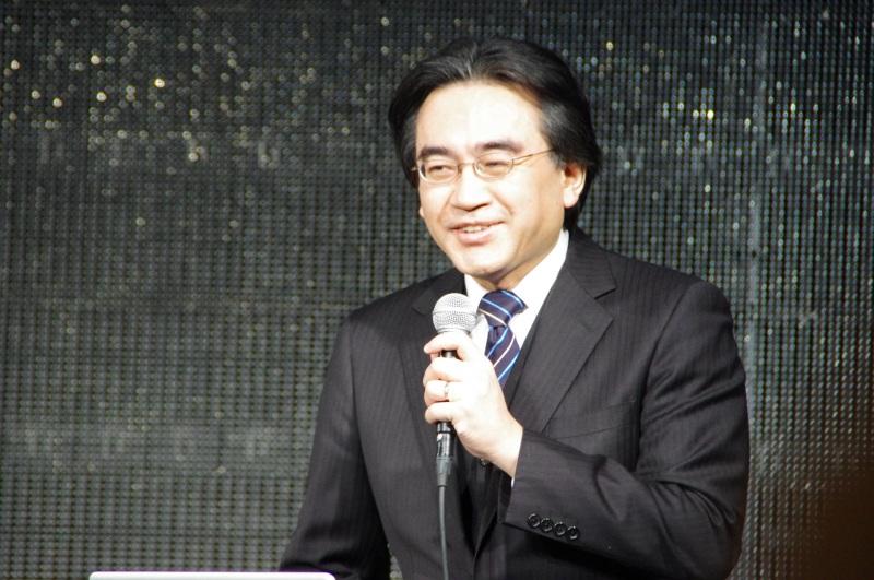 任天堂の岩田聡社長