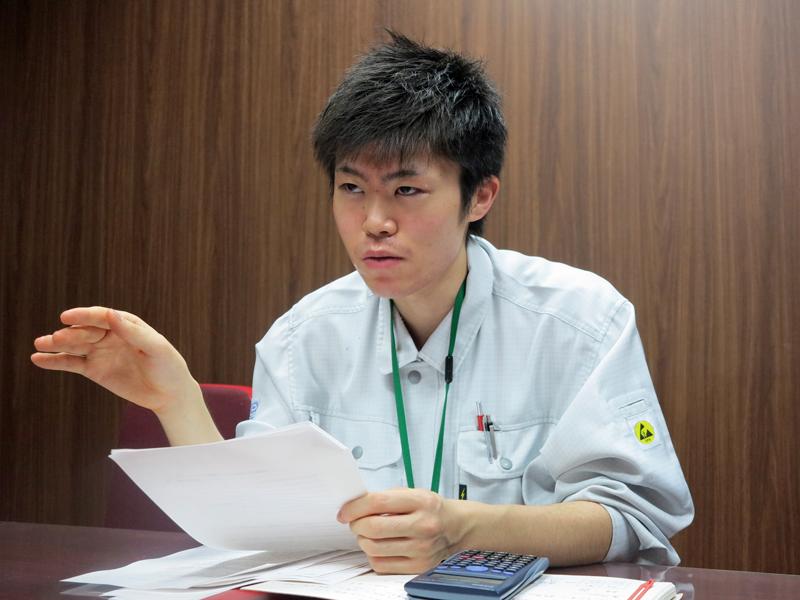 日本データテクノロジー上級技術員の笠嶋一貴氏