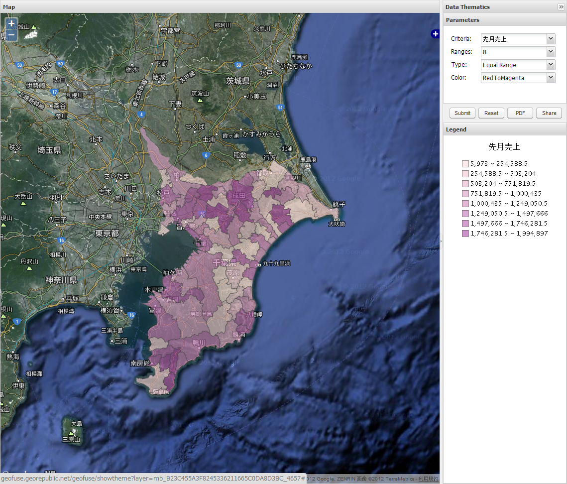 「Red To Magenta」に変更