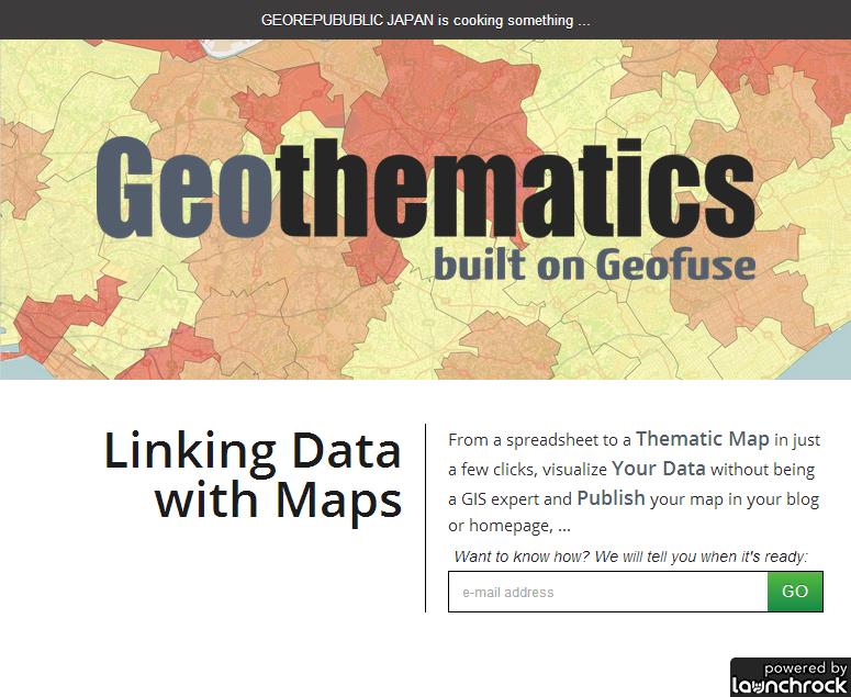 「Geothematics」プレビューサイト