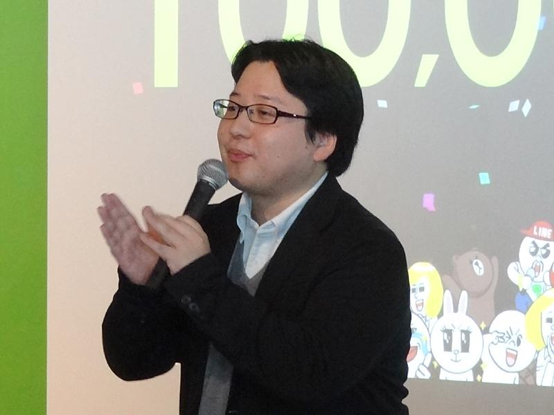 LINEの総責任者である舛田淳氏