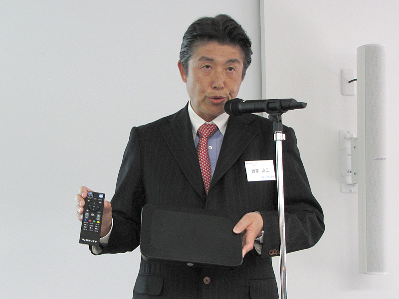 NTTぷらら代表取締役社長の板東浩二氏