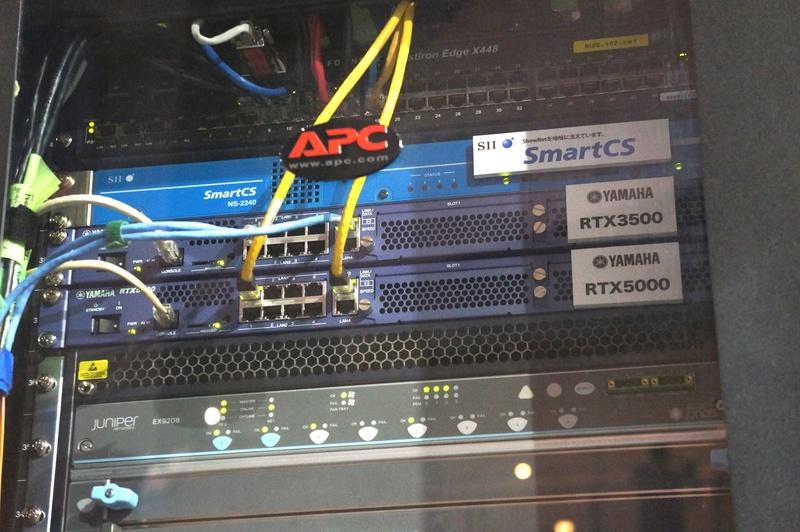 ShowNetの「データセンター」に設置されたRTX5000/3500