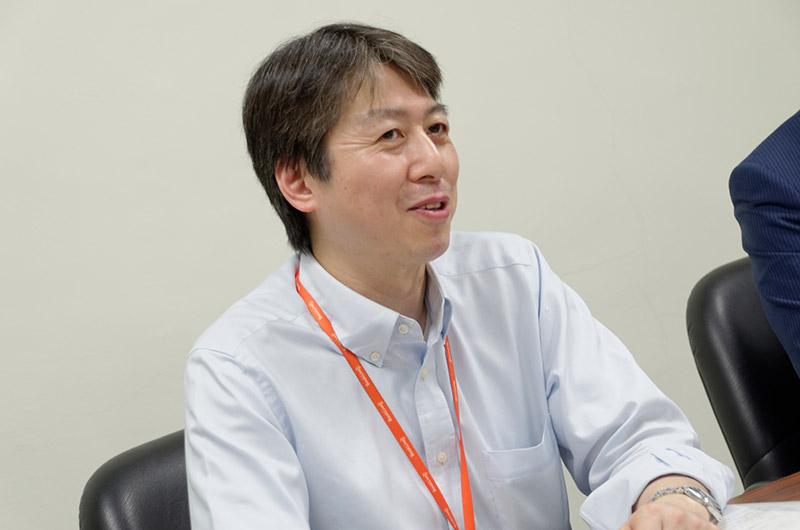 株式会社BookLive営業本部コンテンツ営業部の関谷雅彦氏