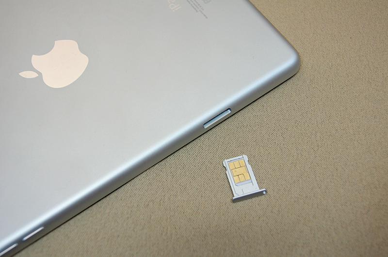 iPad miniなどSIMフリーの端末にも活用可能。ただし、nano SIMを選択する必要があるので注意