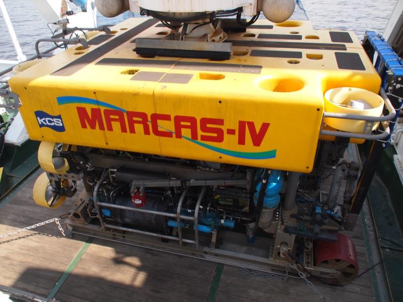 水中作業ロボット「MARCAS-IV」