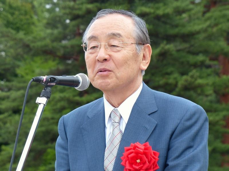 横内正明山梨県知事