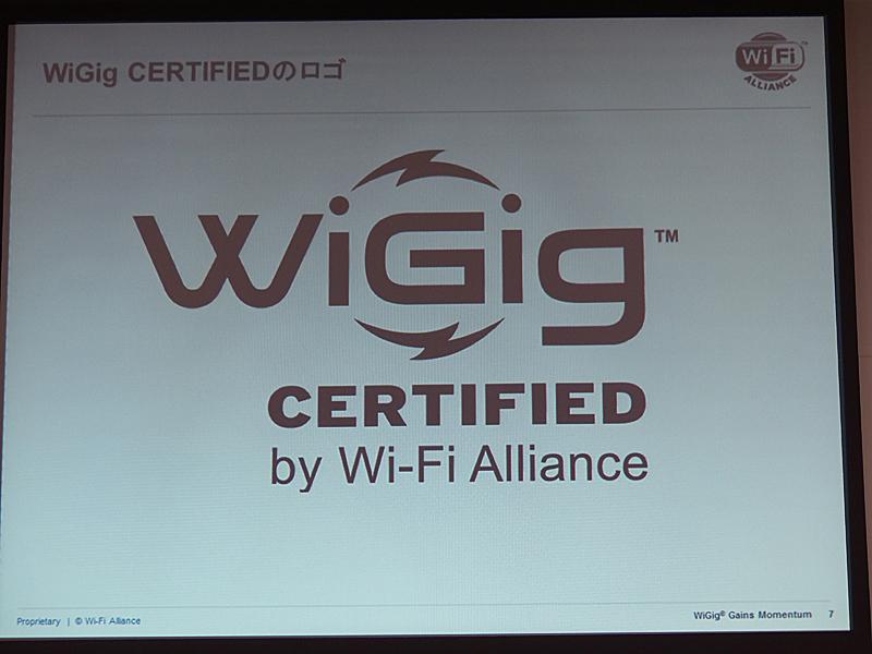 WiGig認定ロゴ