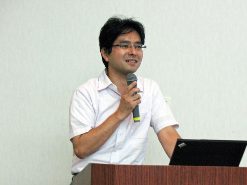 想隆社代表取締役の山本幸太郎氏