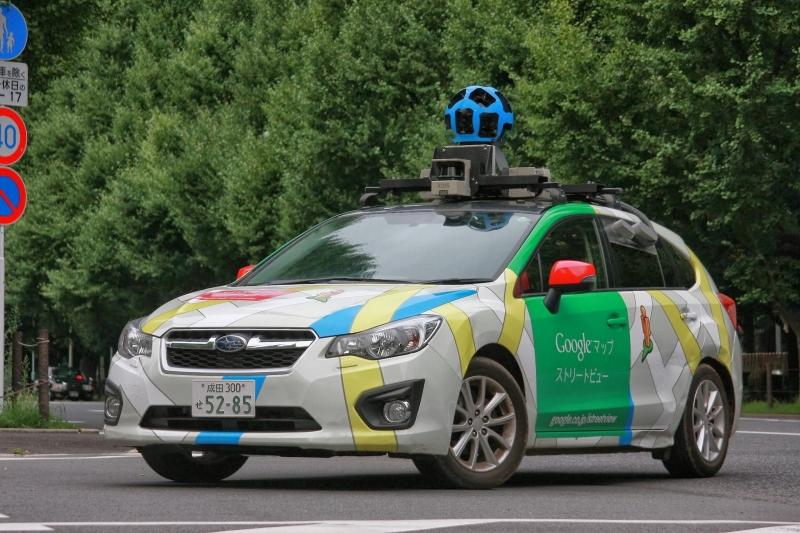 ストリートビュー撮影車(提供:Google)