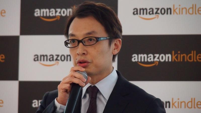Amazon.co.jp代表取締役社長のジャスパー・チャン氏