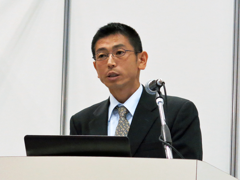 成田市生涯学習部図書館主査の米田渉氏