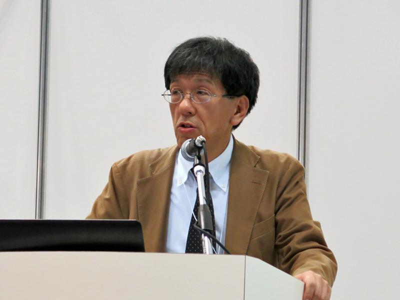 田原市図書館館長の豊田高広氏