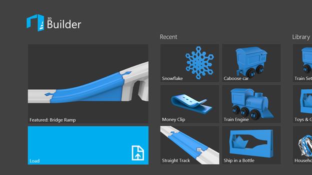 3Dモデル作成アプリ「3D Builder」