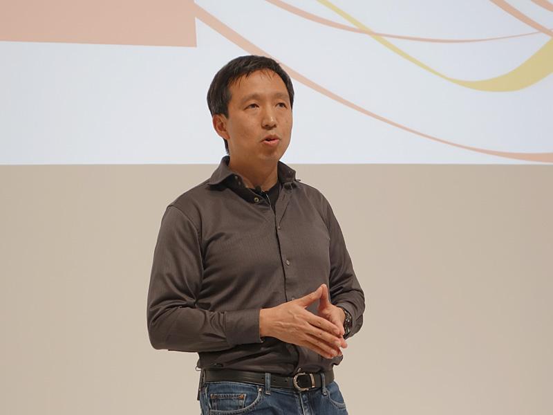 グーグル株式会社製品開発本部長の徳生健太郎氏