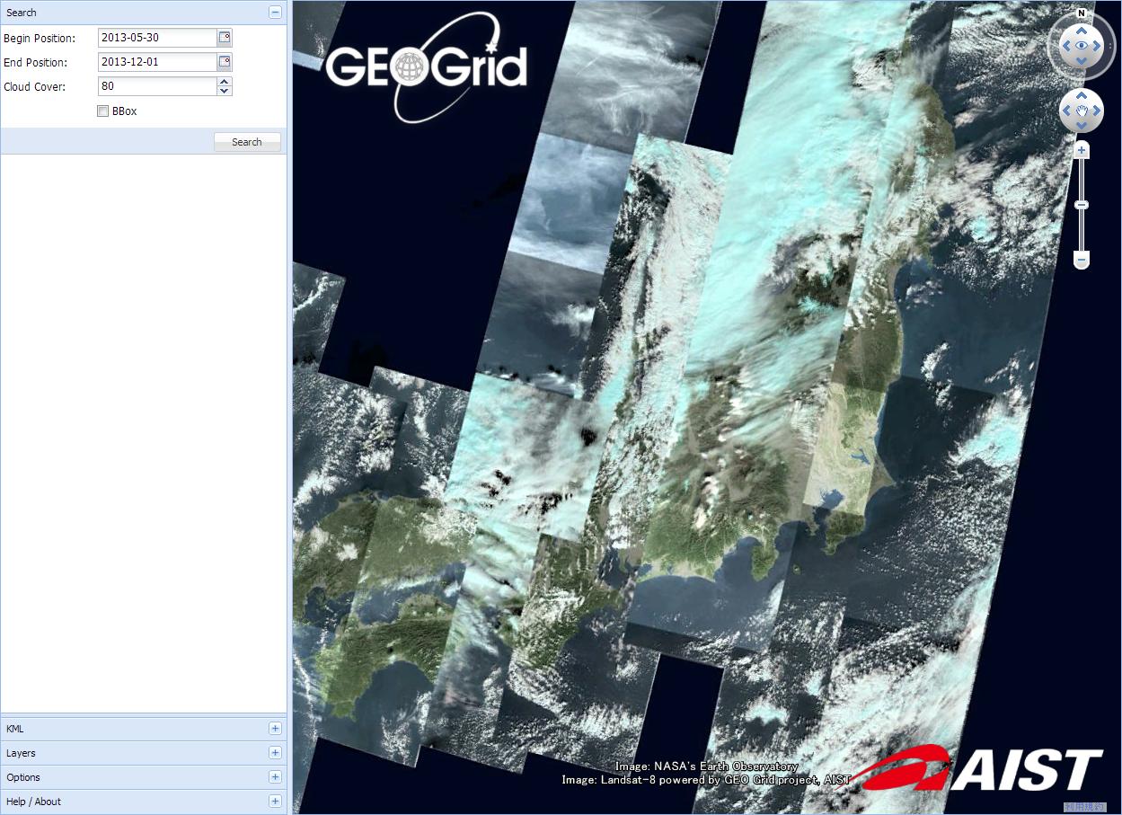 データ検索&ダウンロード (C) GEO Grid/AIST