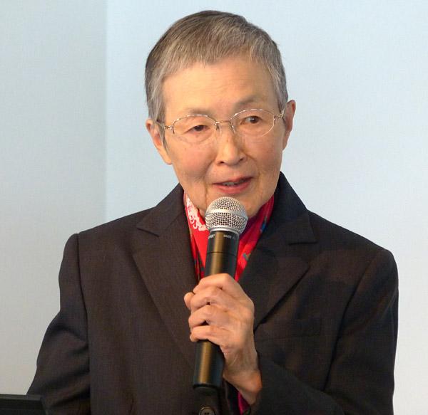 メロウ倶楽部 幹事 NPO法人ブロードバンドスクール協会 理事 若宮正子氏