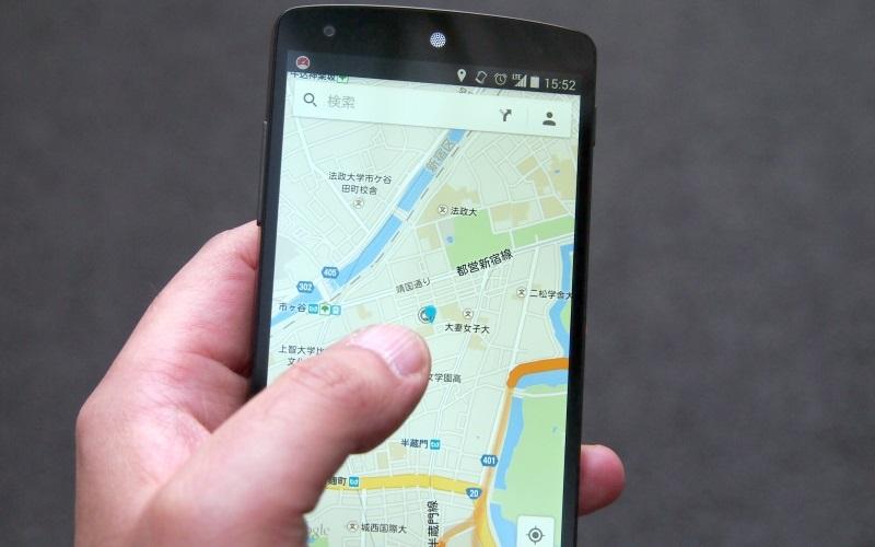 地図アプリのように通信容量の大きなアプリも、自動で高速モードに切り替わることで快適に利用できる