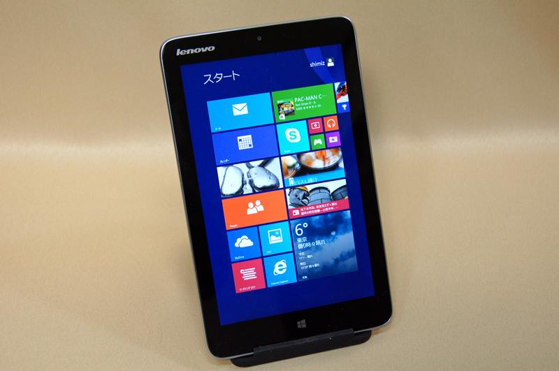 Windows 8.1が動作する8インチタブレットのLenovo Miix 2 8