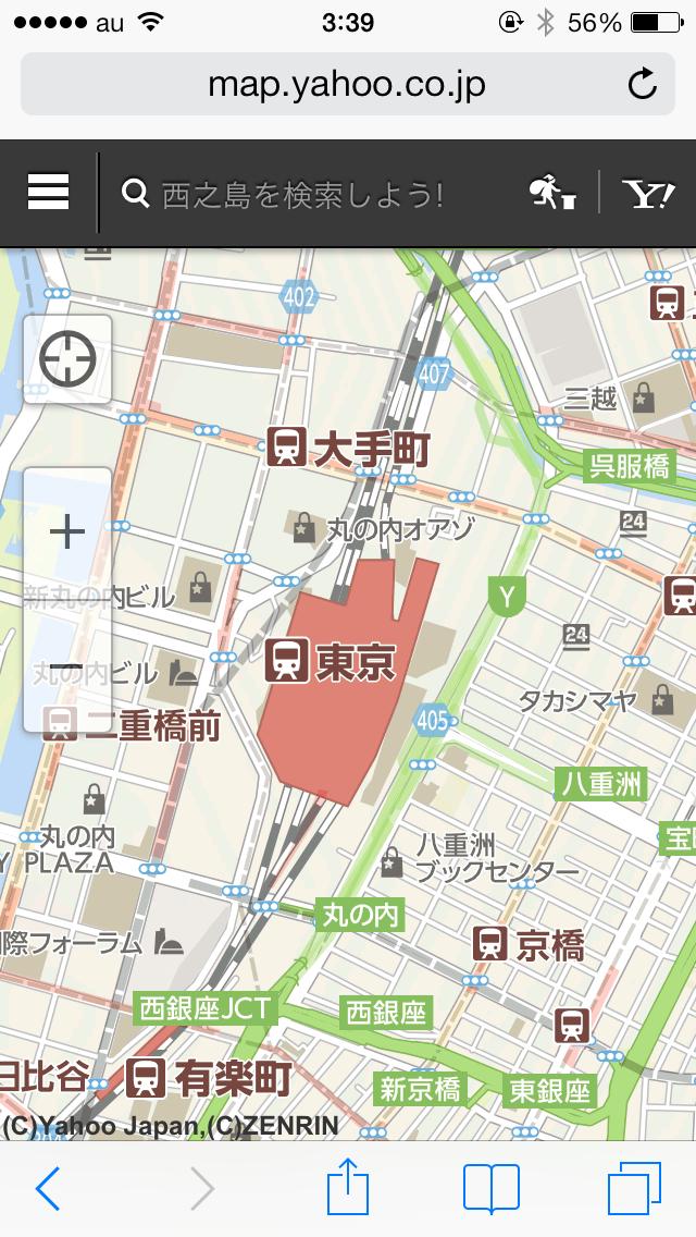 ウェブ版の地図