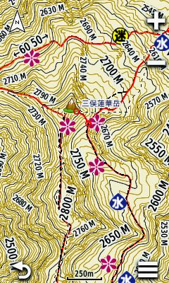 日本登山地図