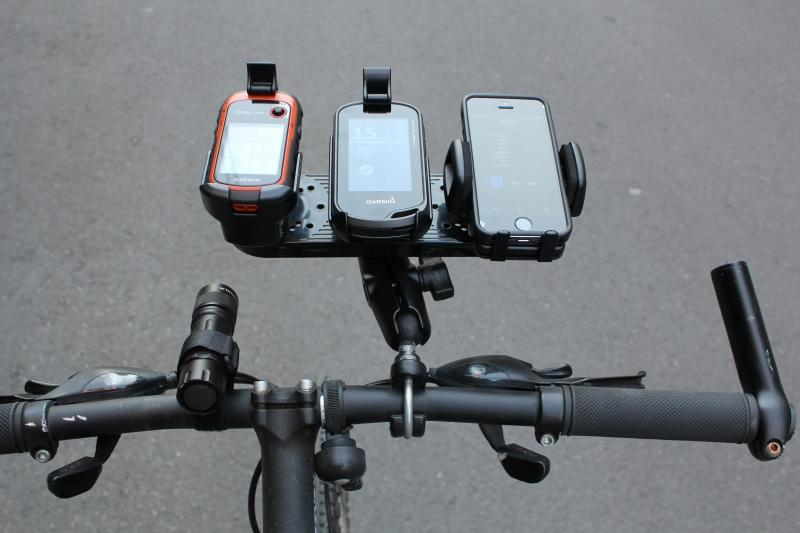 自転車に搭載