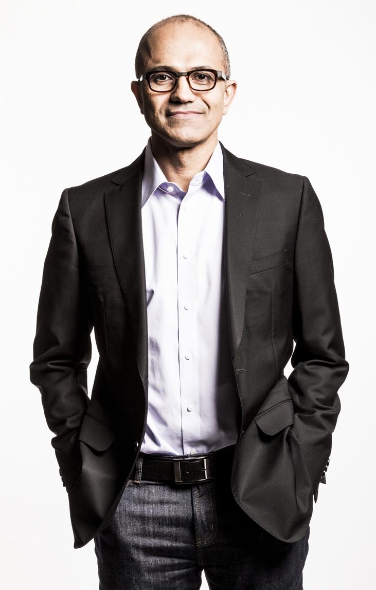 CEOに就任するSatya Nadella氏