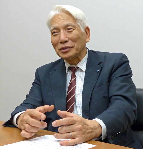 東京電機大学 未来科学部長 安田浩教授。日本初、世界でもおそらく初の試みという、高齢者向けIT講座の講師を養成する「デジタル未来塾」を開講した
