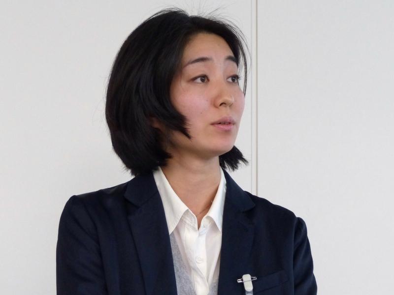 楽天株式会社の田中はる奈氏(ブックス事業副事業長)