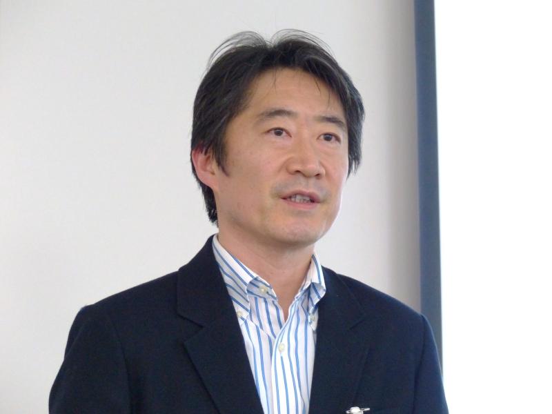 楽天株式会社の土屋隆行氏(ブックス・物流サービス開発部eBookサービス開発グループグループマネージャー)