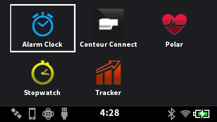 デフォルトでは5つのアプリを収録