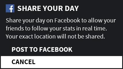 Facebookに投稿可能