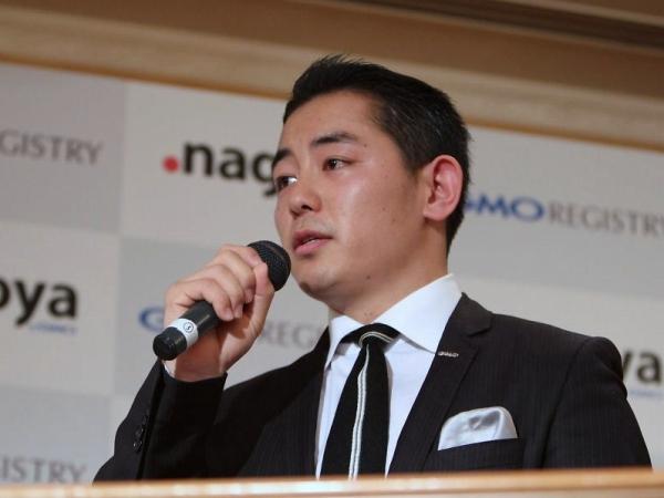 GMOドメイレジストリ代表取締役社長の塚原廣哉氏