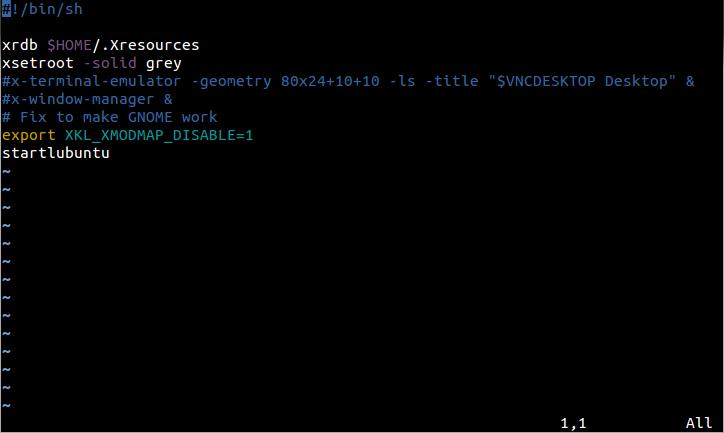 TightVNCの設定ファイルをテキストエディタで開き、最終行を書きかえる