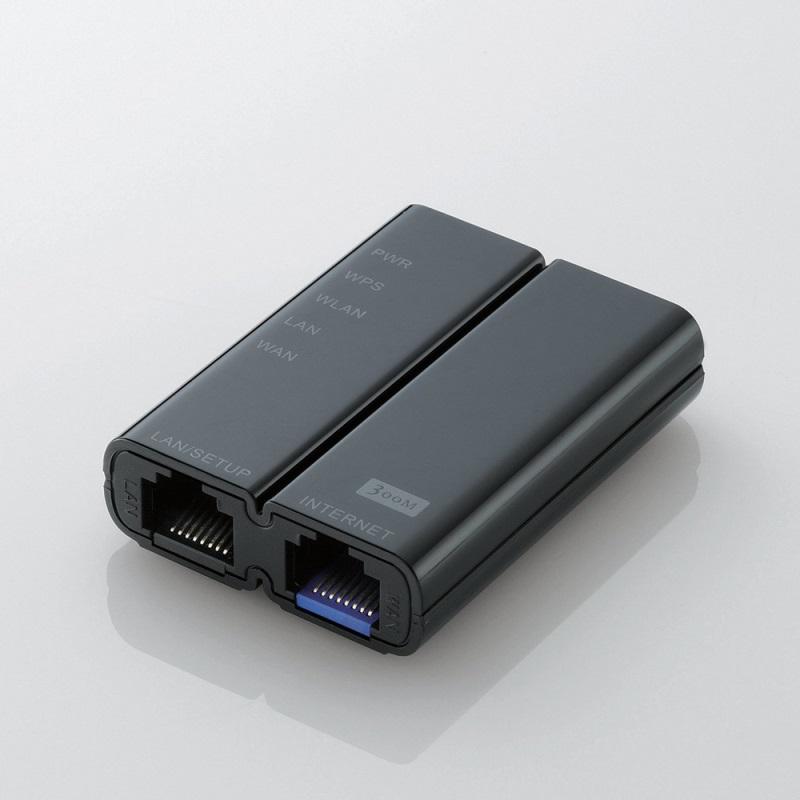 無線LANルーター「GM-WRH300BK」