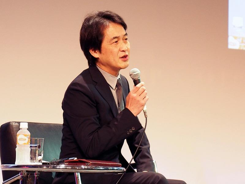 モデレーターを務めた慶應義塾大学大学院の特別招聘教授 夏野剛氏