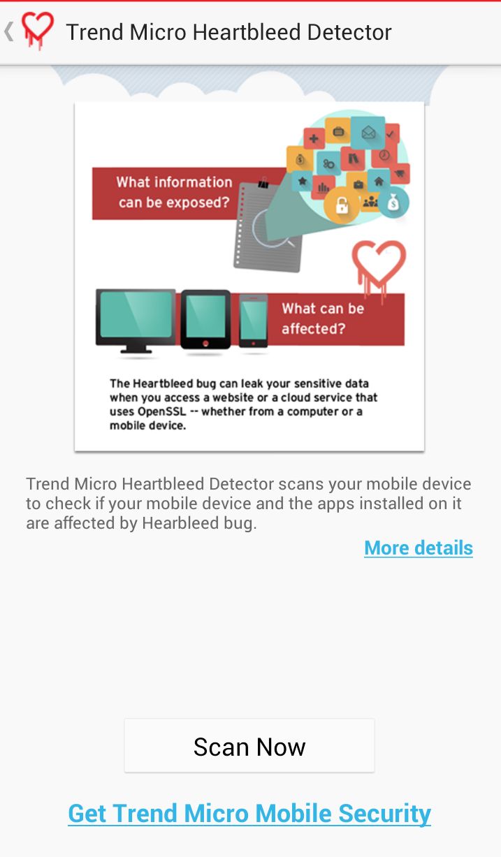Heartbleed Detector(Androidアプリ版)