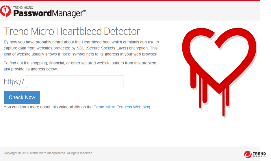 Heartbleed Detector(ウェブ版)
