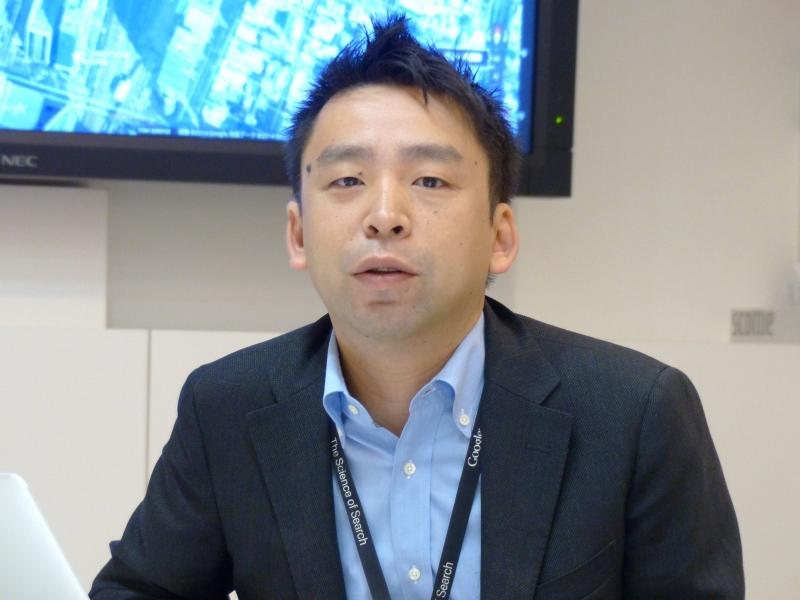 Googleの河合敬一氏(グループプロダクトマネージャー)