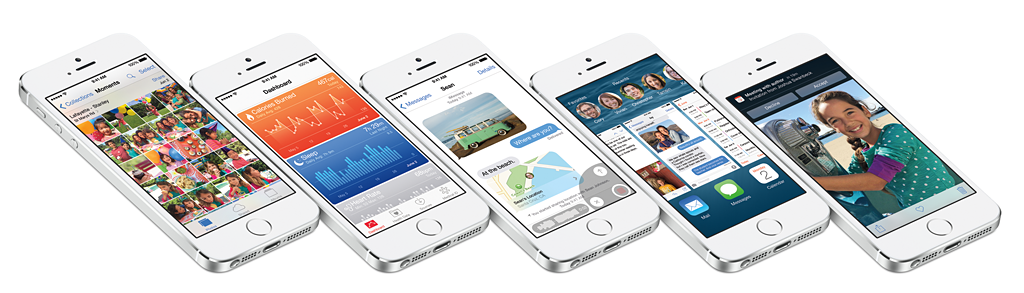 iOS 8では情報の共有・連携がよりスムーズに行える