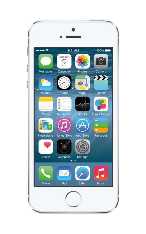 iOS 8のホーム画面