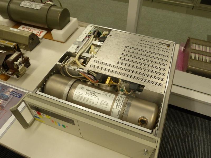 現在使用中のセシウム時計