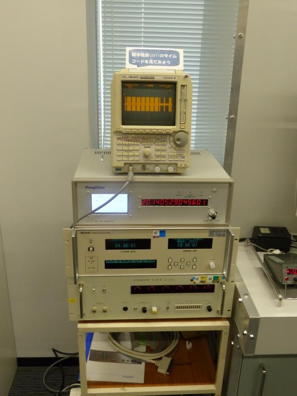 標準電波のタイムコード