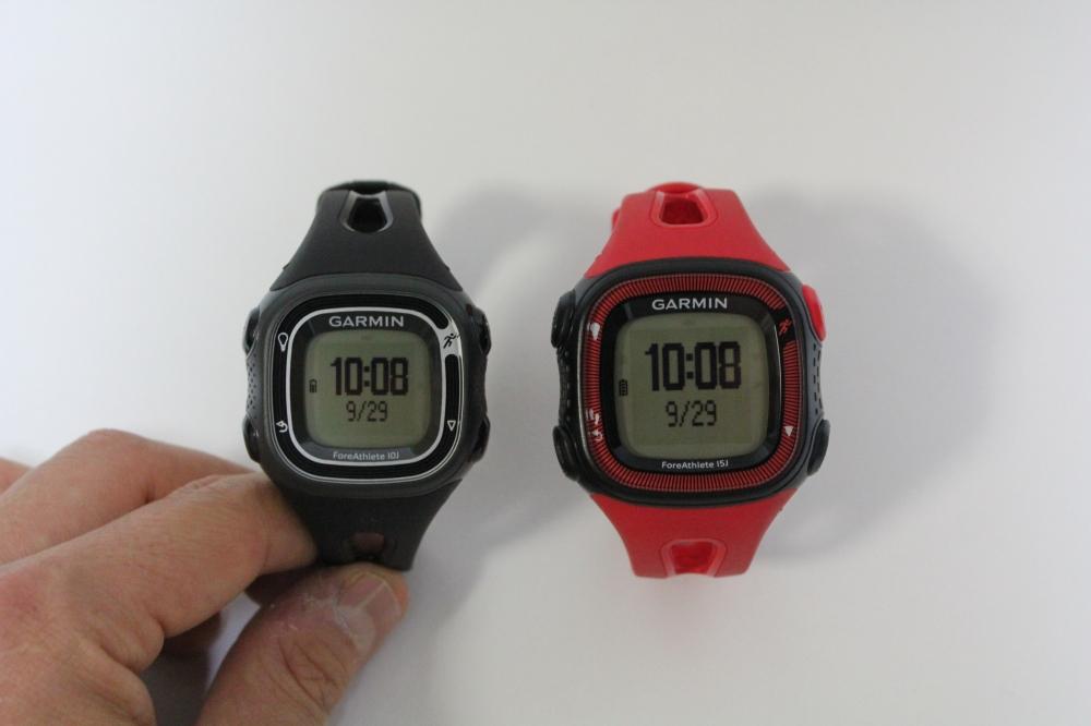 (左から)ForeAthelete10J(重量36gのモデル)、ForeAthlete15J