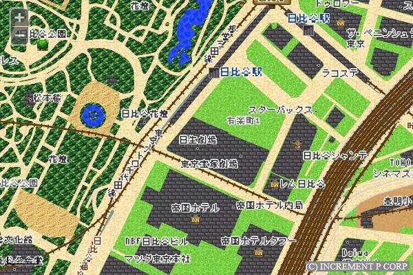 RPG風マップ
