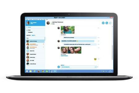 Skype for Web(Skype公式ブログから画像転載)